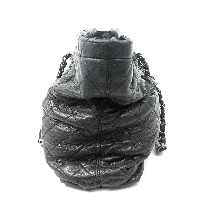 Bolsa Chanel Trapézio Preta