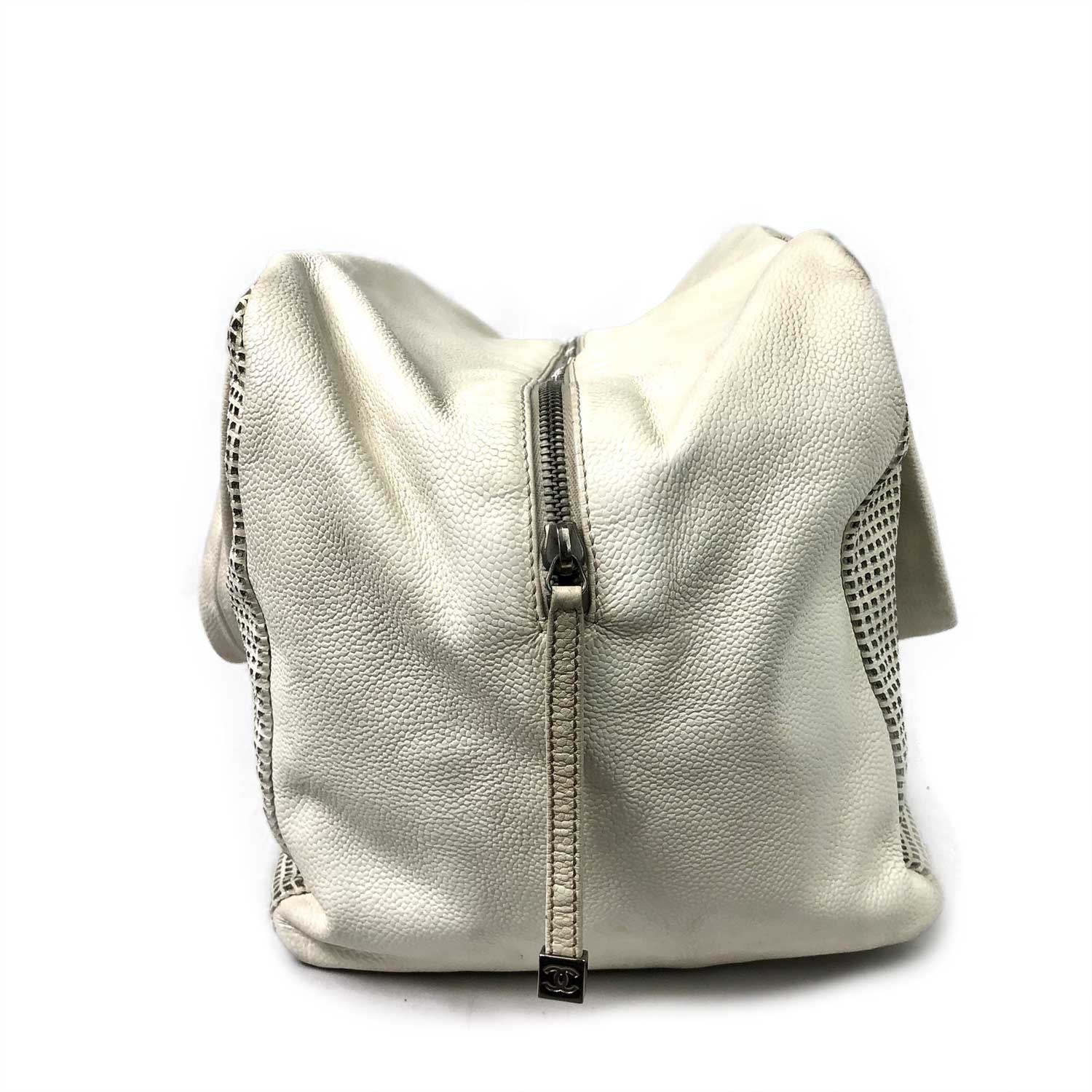 Bolsa Chanel Up In The Air Boston Offwhite