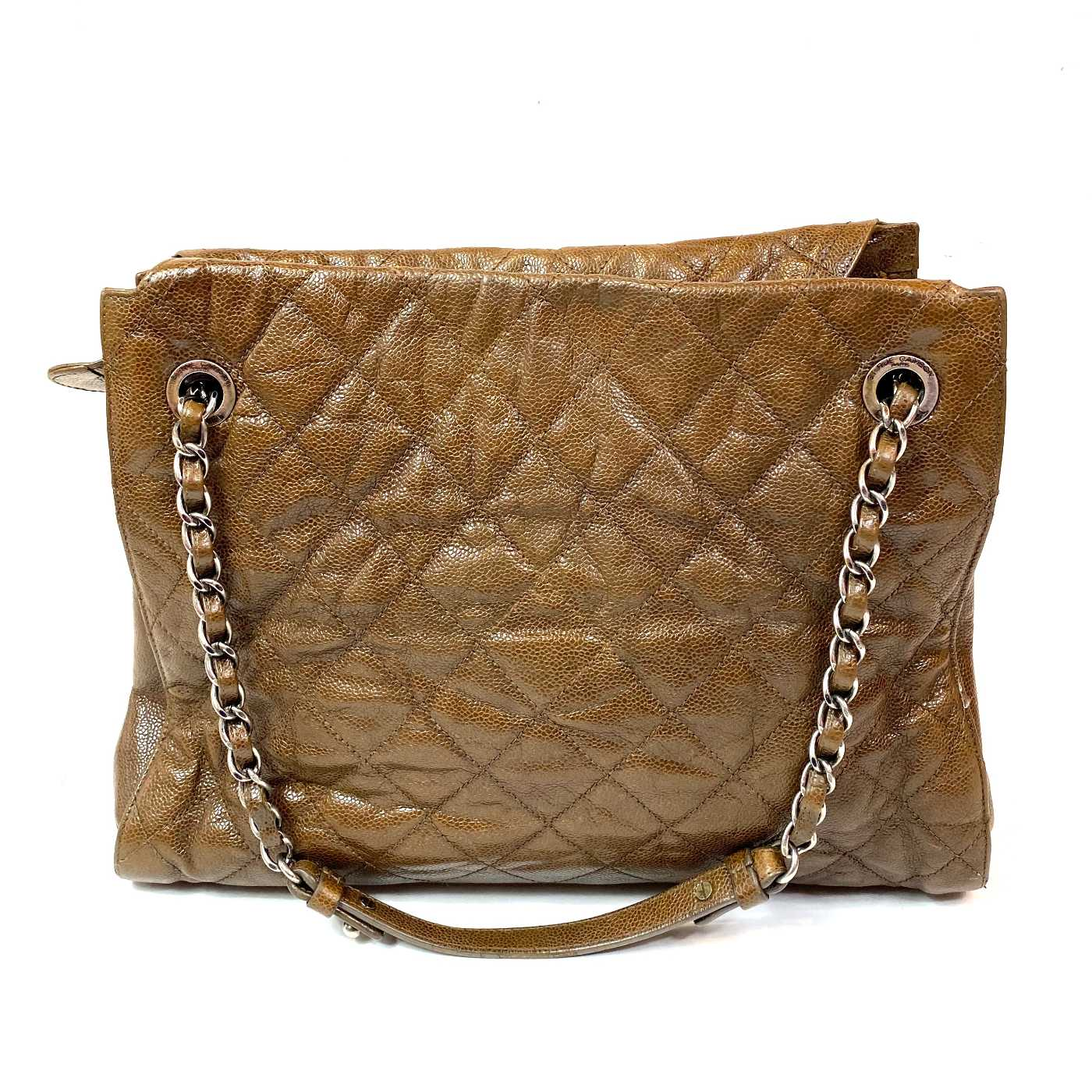 Bolsa Chanel Vintage Quilted Marrom