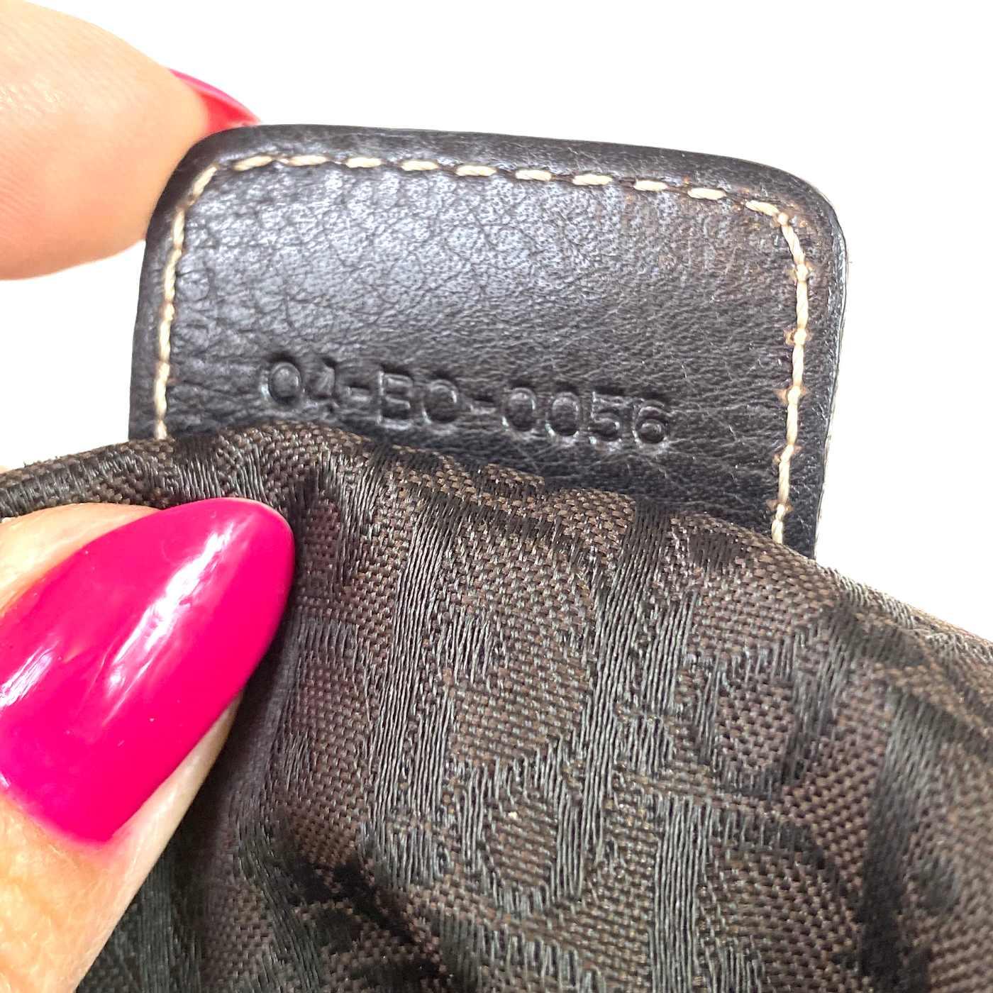 Bolsa Christian Dior Marrom