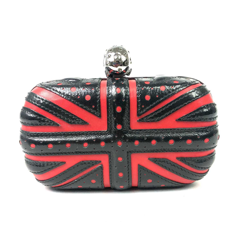 Bolsa Clutch Alexander McQueen Union Jack Box