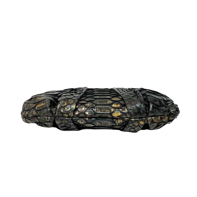 Bolsa Clutch Christian Louboutin Loubi Mini Snake