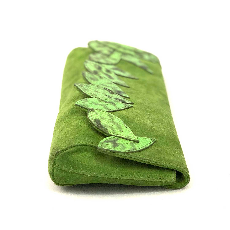 Bolsa Clutch DKNY Verde