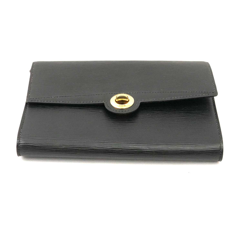 Bolsa Clutch Louis Vuitton Epi Preta