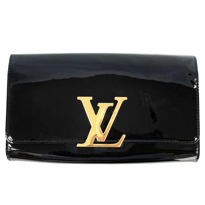 Bolsa Clutch Louis Vuitton Louise Verniz
