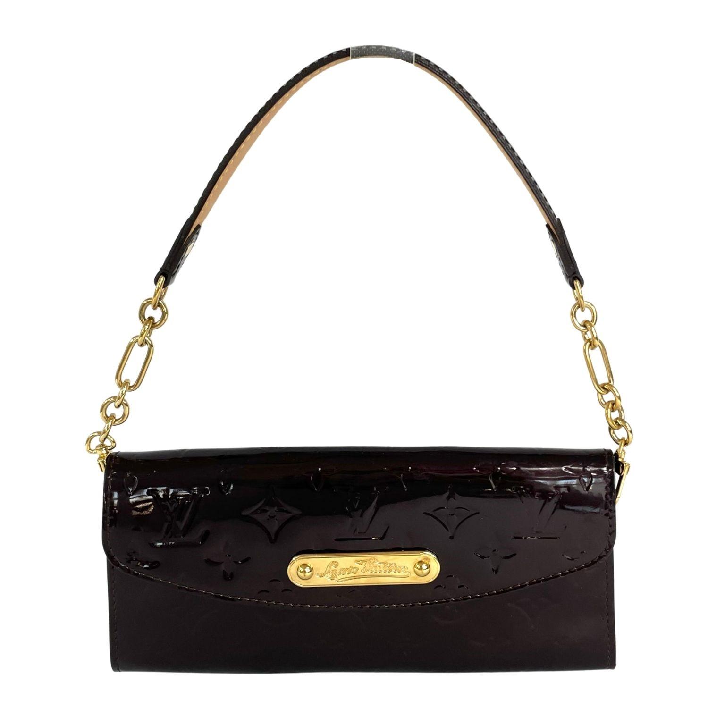 Bolsa Clutch Louis Vuitton Sunset Boulevard Verniz