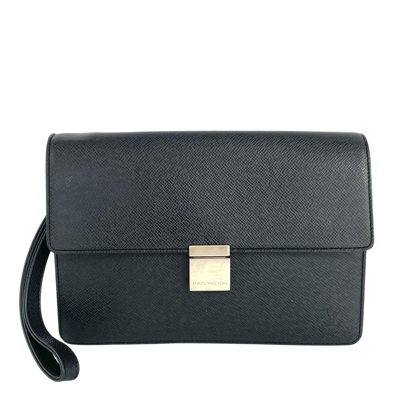 Bolsa Clutch Louis Vuitton Taiga Serenga