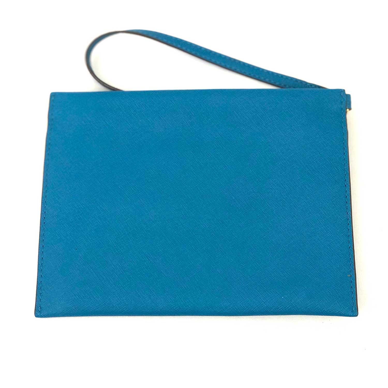 Bolsa Clutch Michael Kors Azul