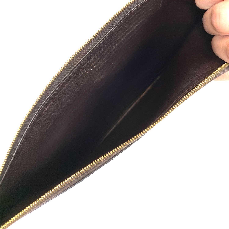 Bolsa Clutch Pouch Céline Python