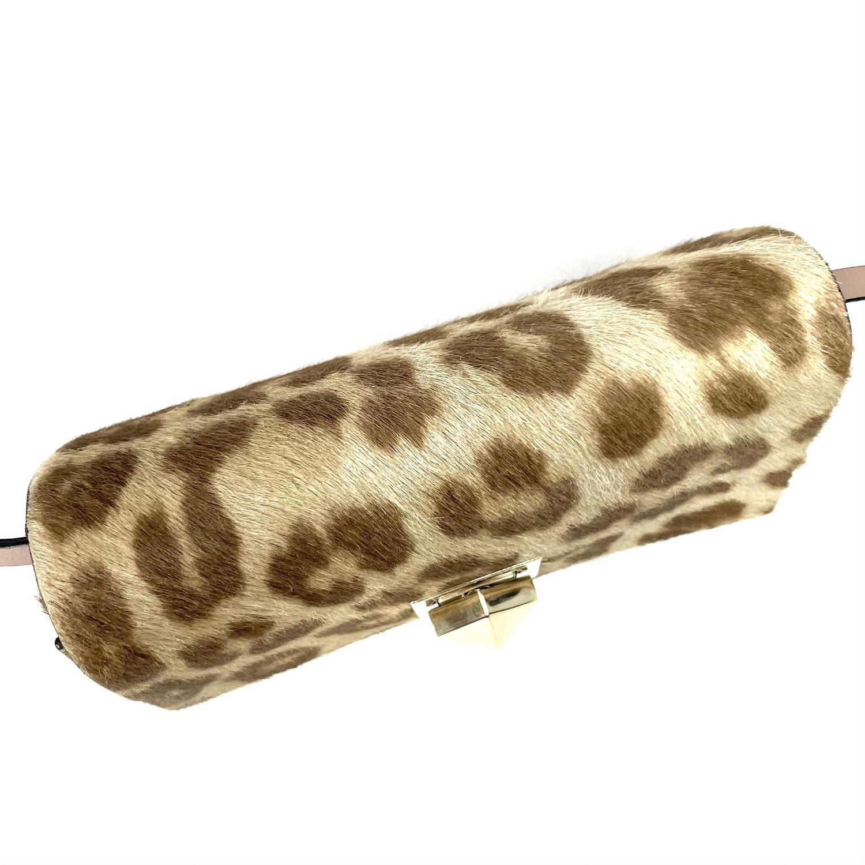 Bolsa Clutch Valentino Animal Print