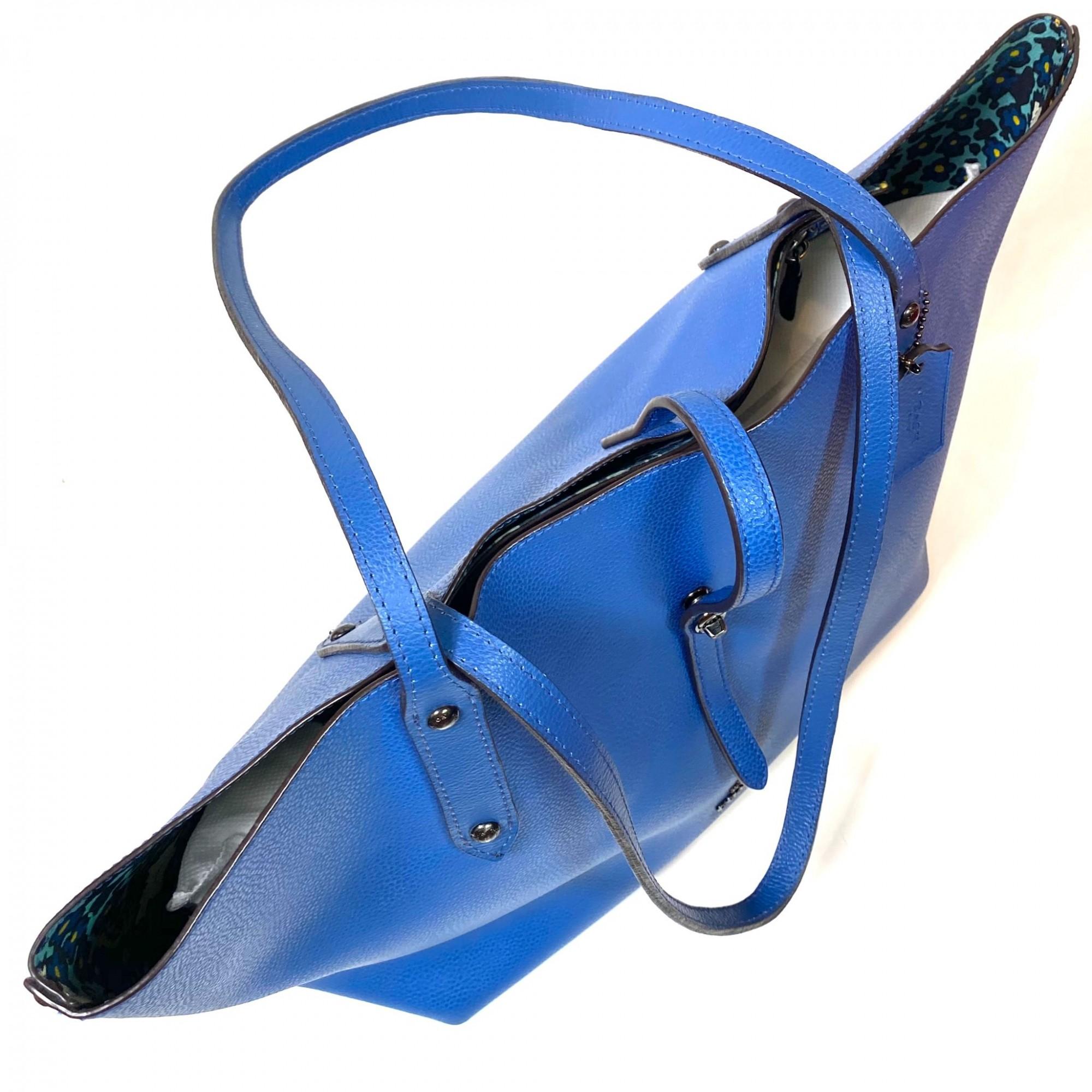 Bolsa Coach Tote Azul