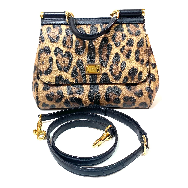 Bolsa D&G Sicily Leopardo