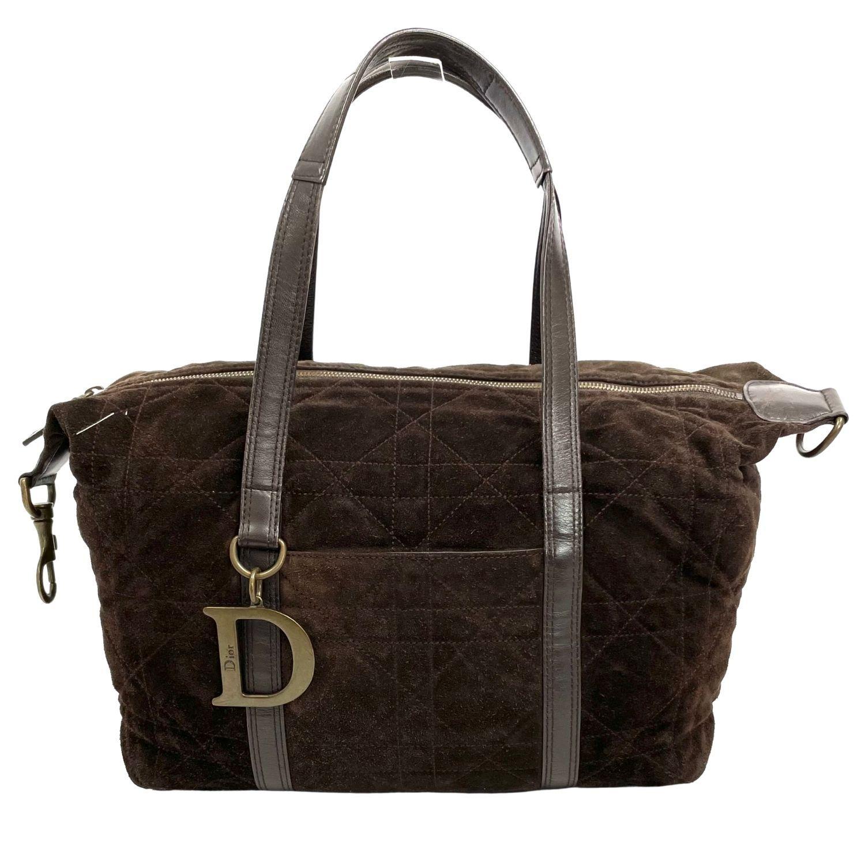 Bolsa Dior Cannage Marrom