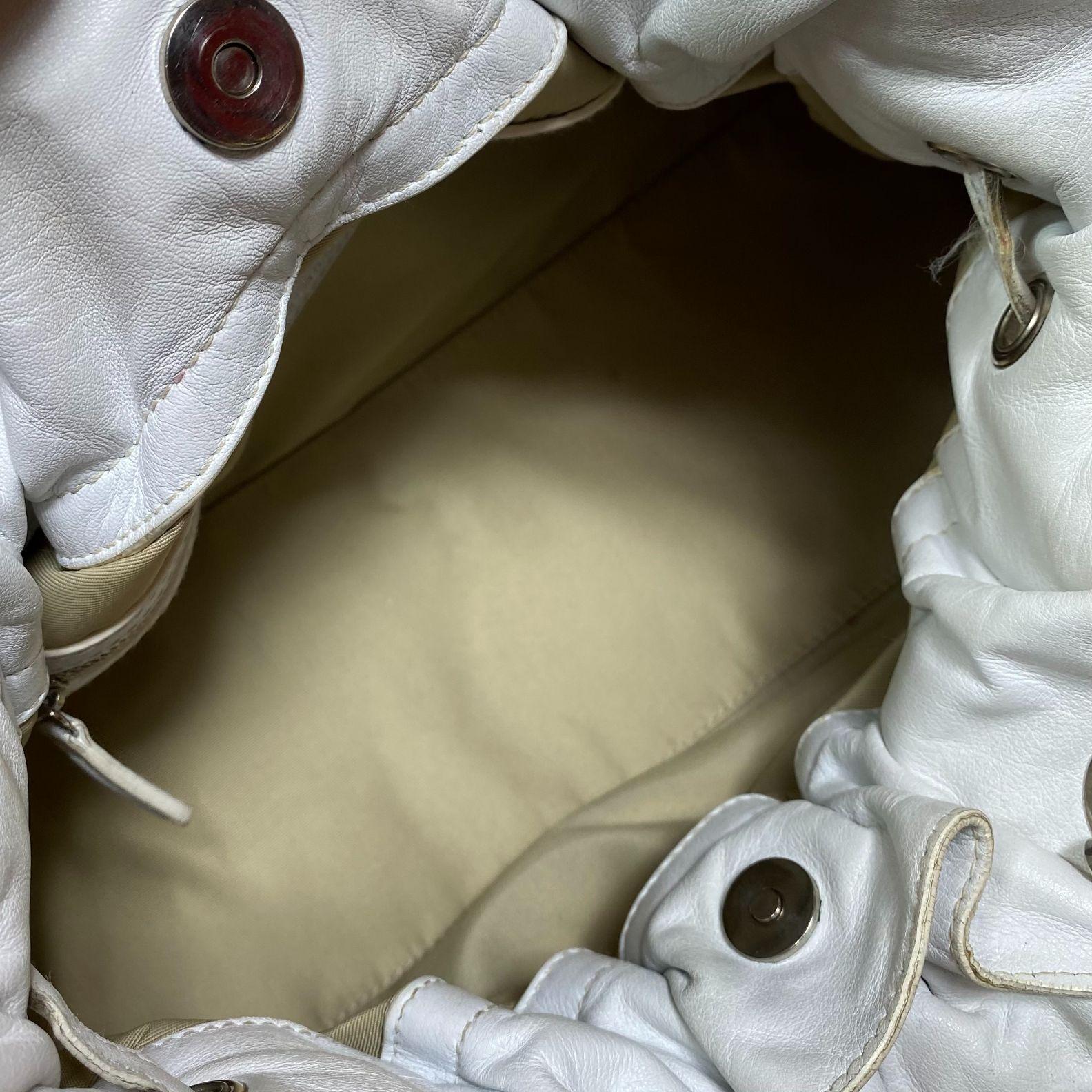 Bolsa Dior Le Trente Branca