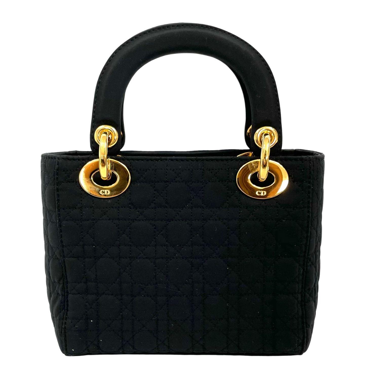 Bolsa Dior Mini Lady Dior Preta