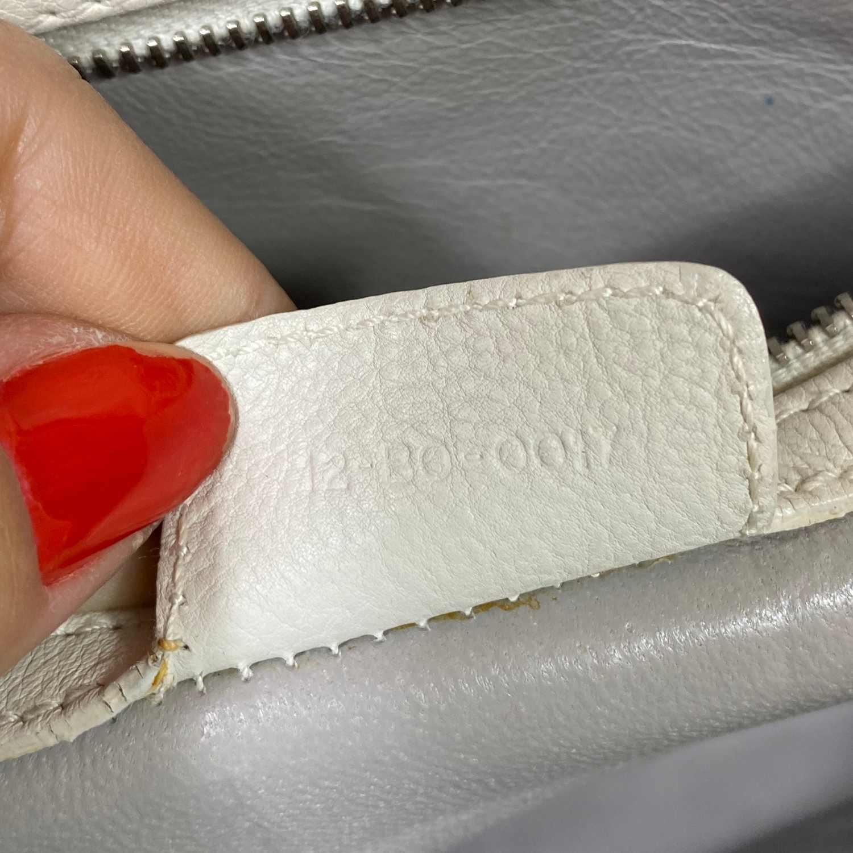 Bolsa Dior Offwhite