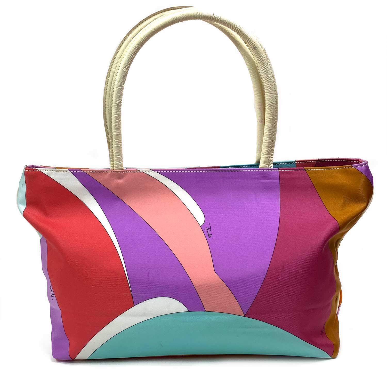 Bolsa Emilio Pucci Tote Nylon Color