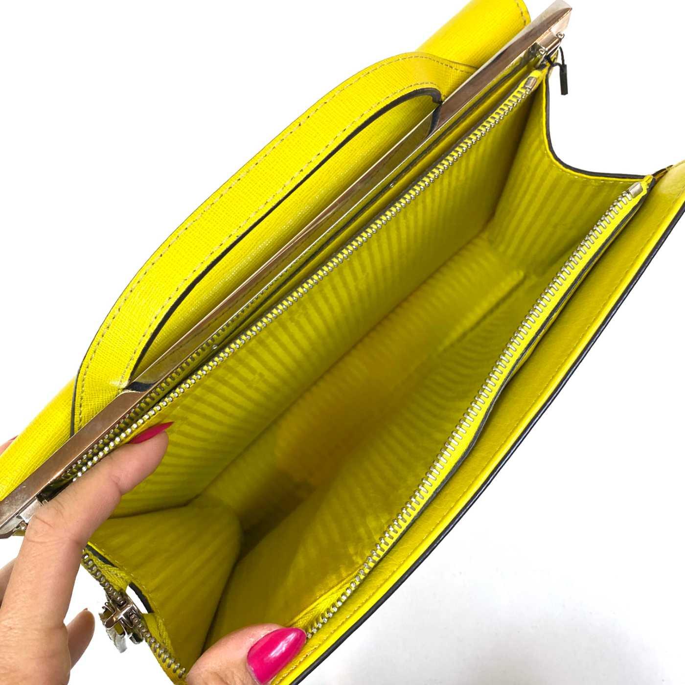 Bolsa Fendi Demi Jour Amarela