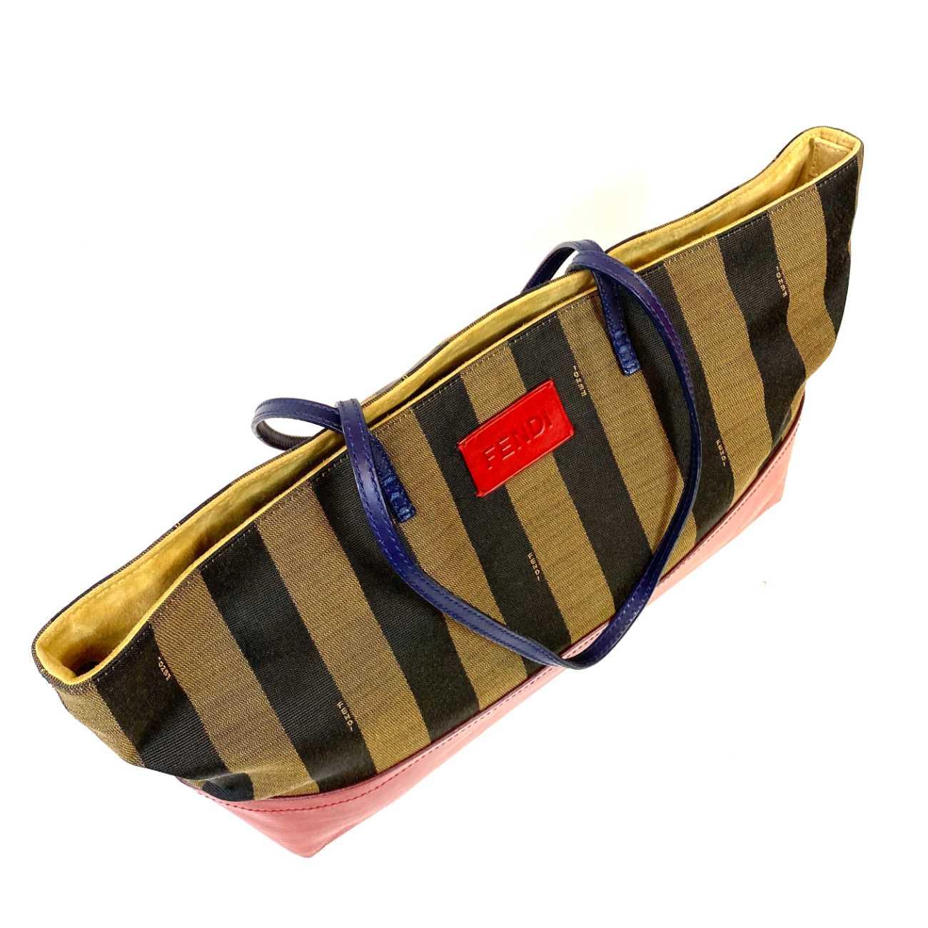 Bolsa Fendi Pequin Roll Tote
