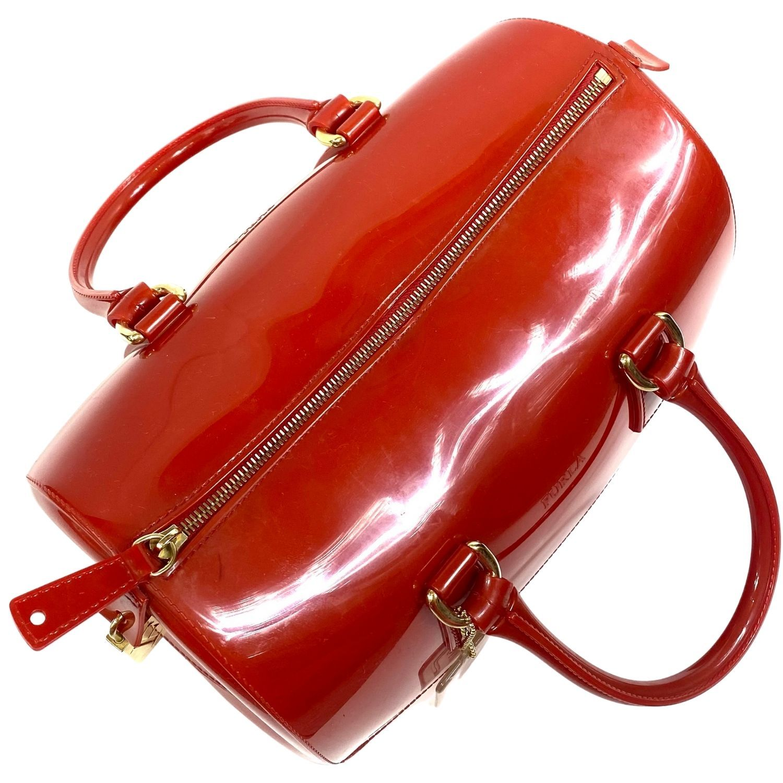 Bolsa Furla Candy Vermelha
