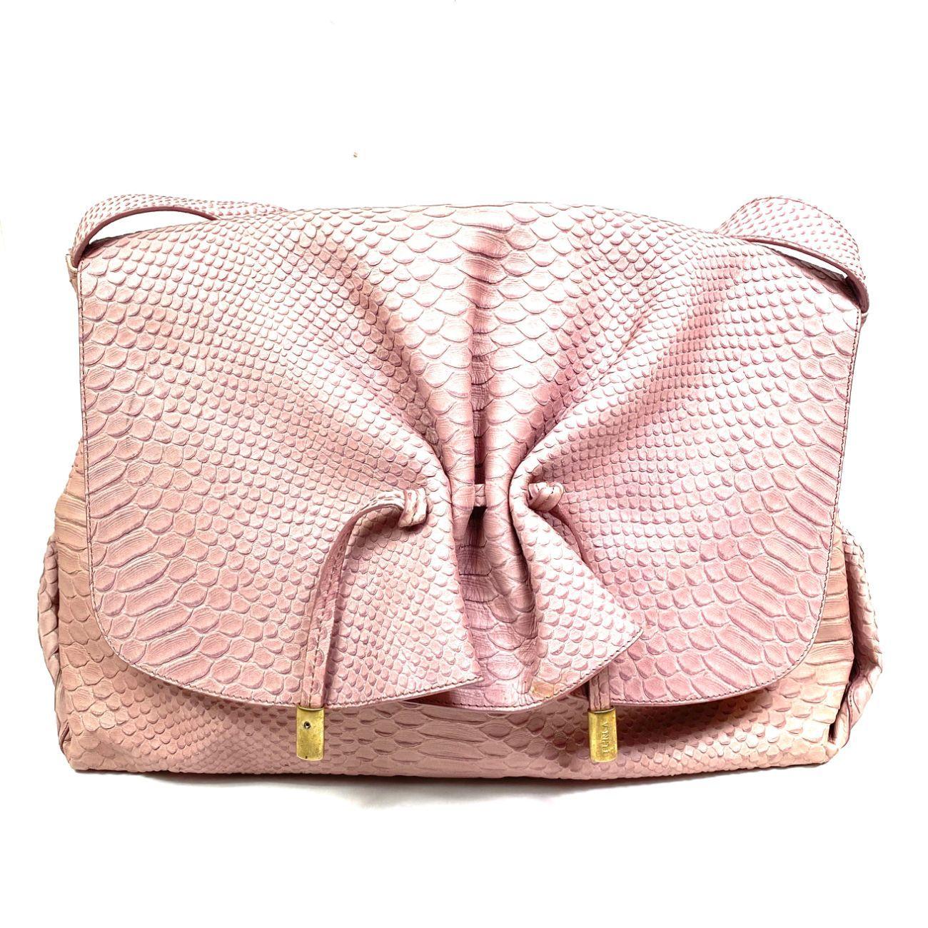 Bolsa Furla Rosa