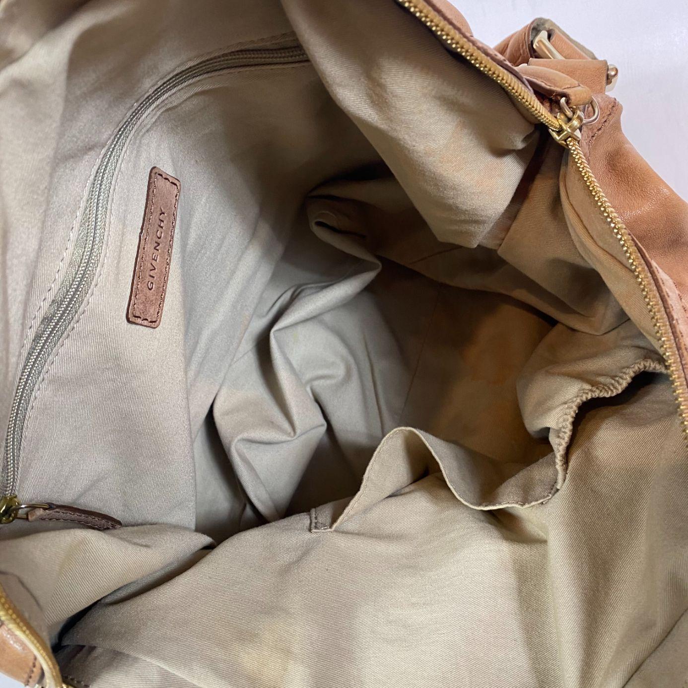Bolsa Givenchy Nightingale Caramelo