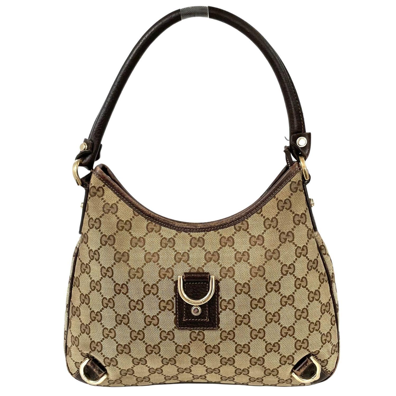 Bolsa Gucci Abbey D Ring Hobo Monograma