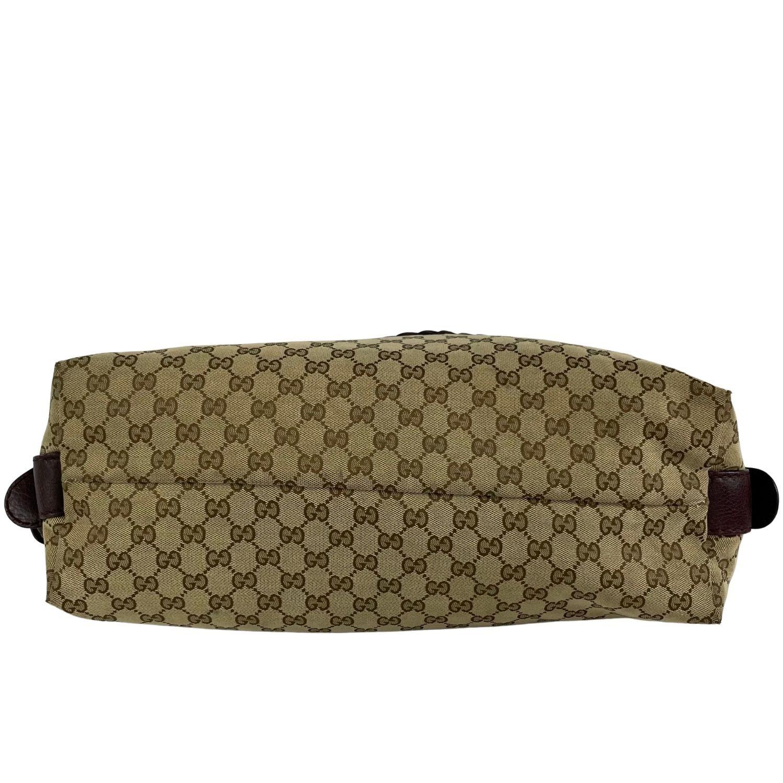 Bolsa Gucci Bamboo Bar Monograma