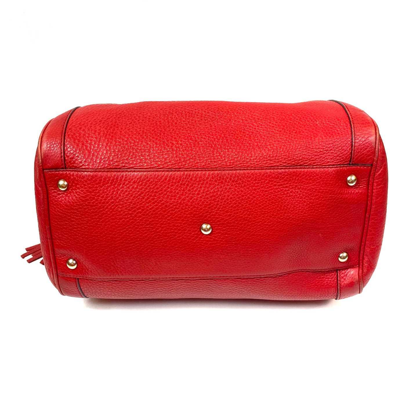Bolsa Gucci Boston Soho Vermelha