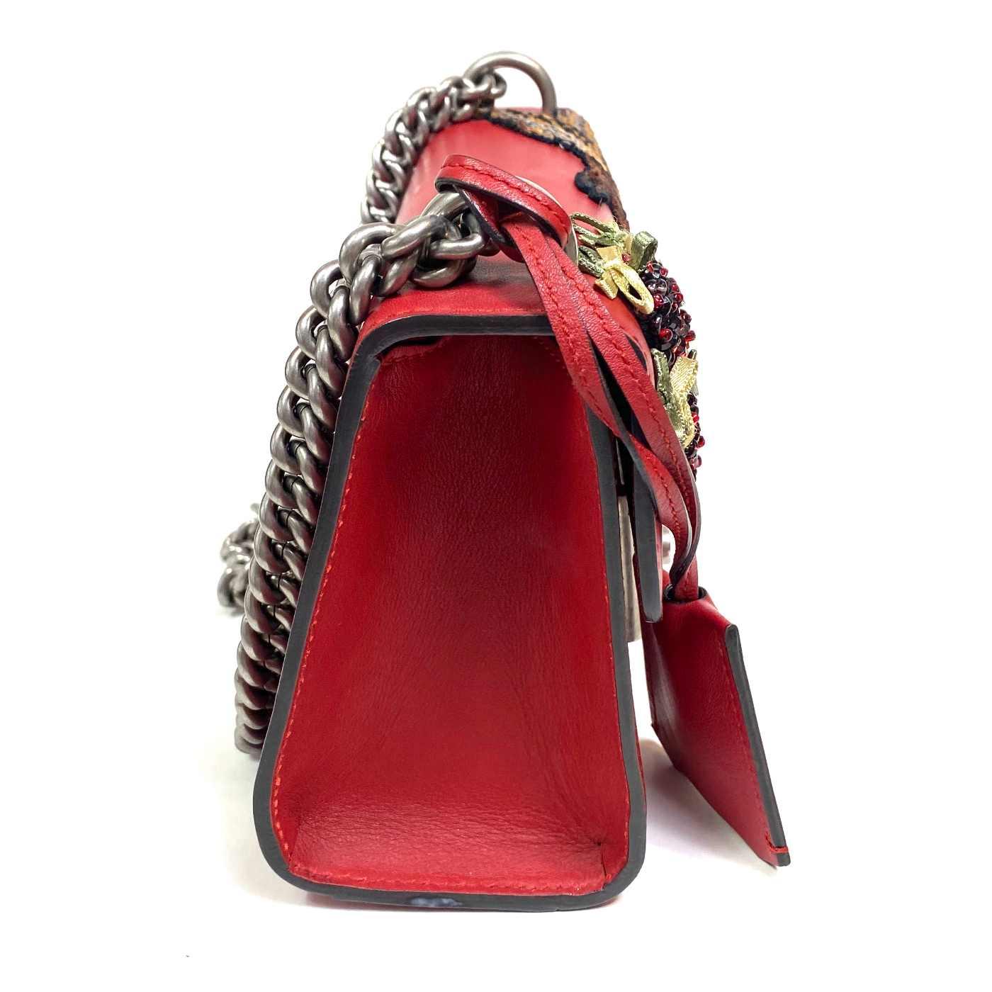 Bolsa Gucci Broadway Vermelho
