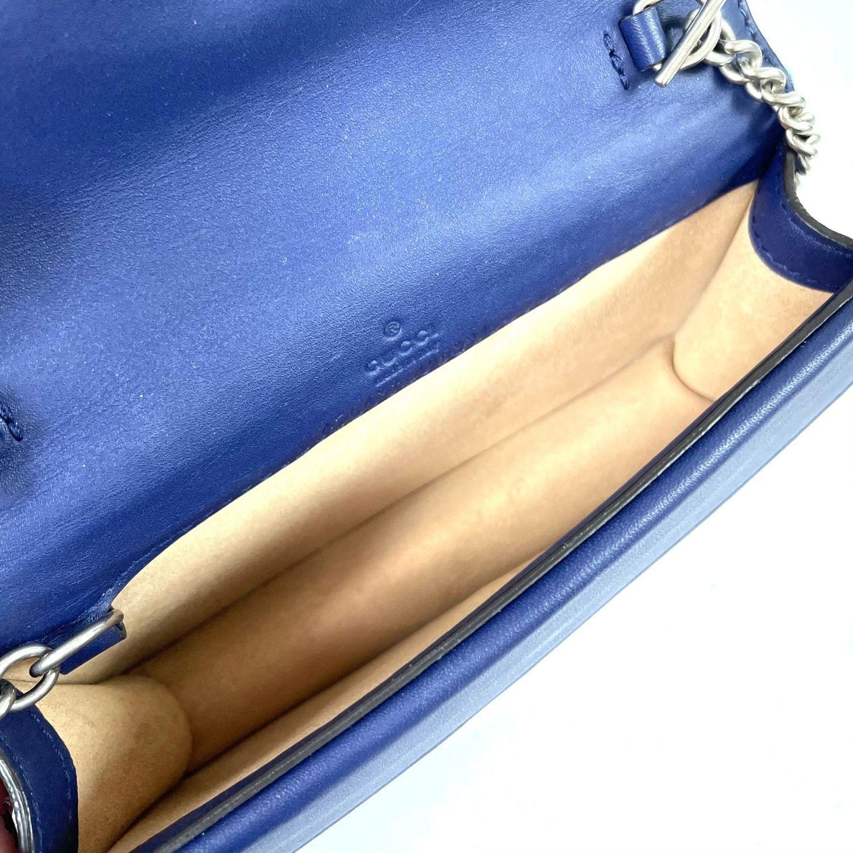 Bolsa Gucci Dionysus Super Mini Veludo