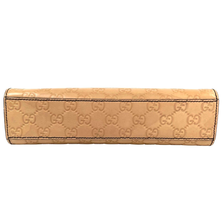 Bolsa Gucci Emily Monograma Beige