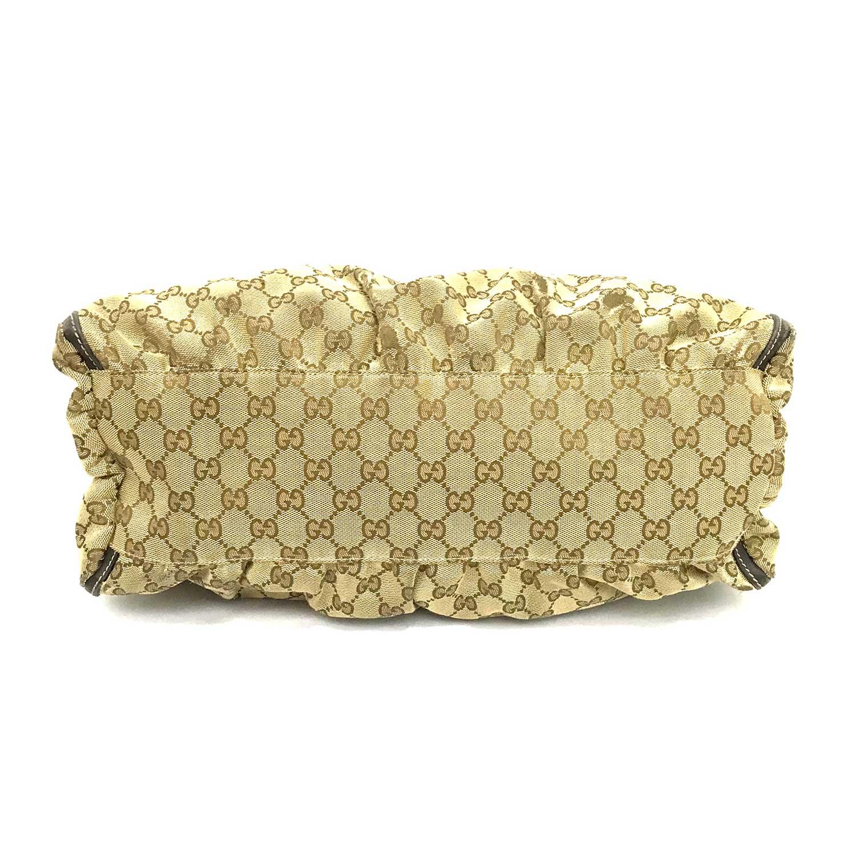 Bolsa Gucci GG Canvas D Gold Hobo