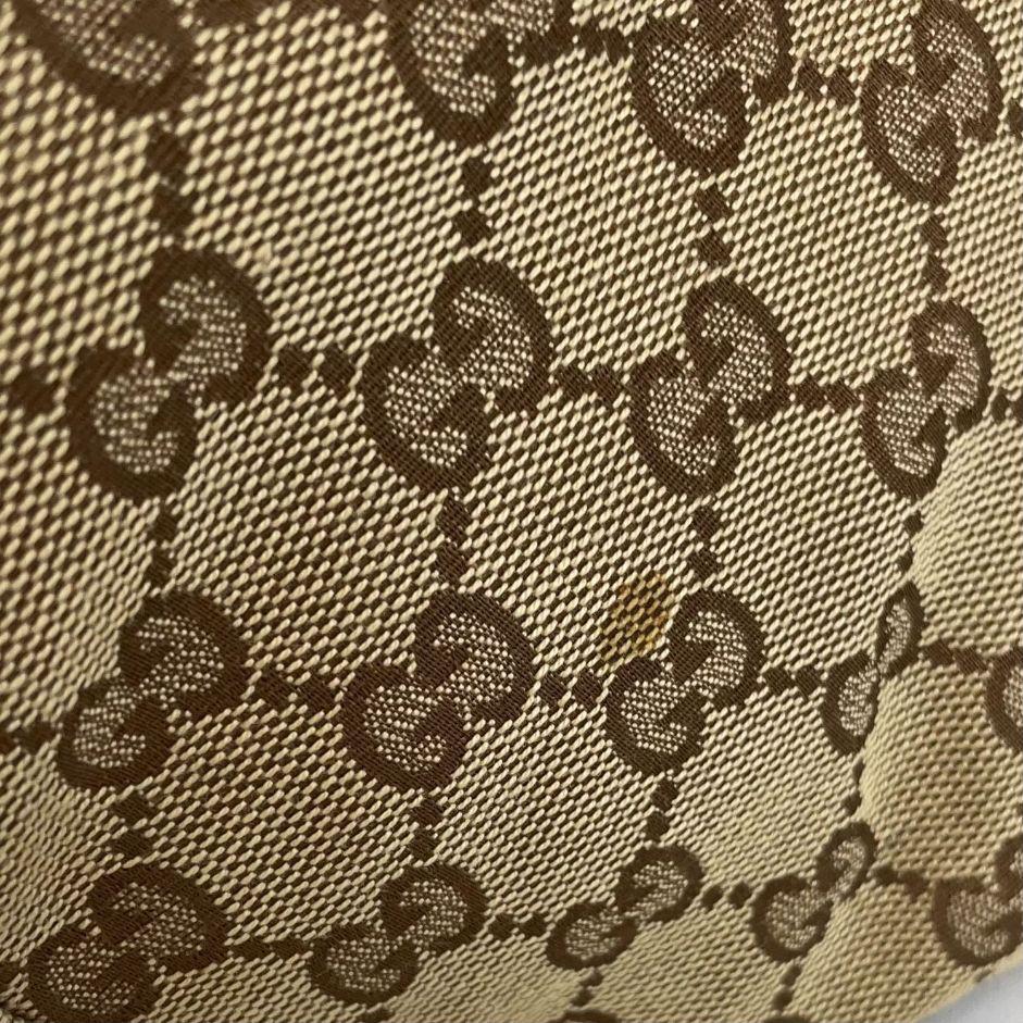 Bolsa Gucci GG Canvas Web Tote