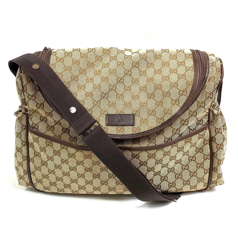 Bolsa Gucci GG Diaper Bag Monograma