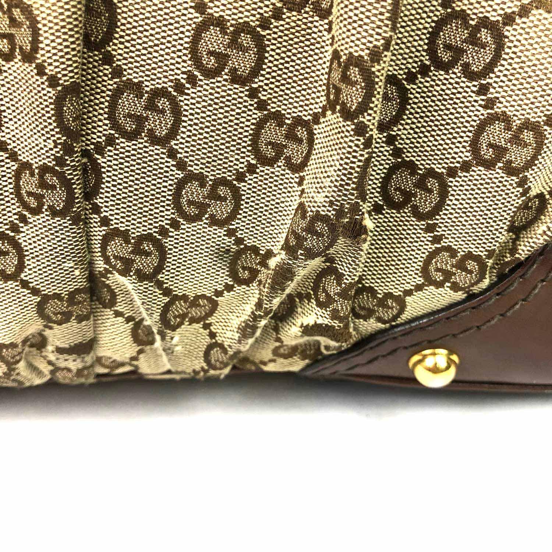 Bolsa Gucci GG Jockey Hobo Marrom