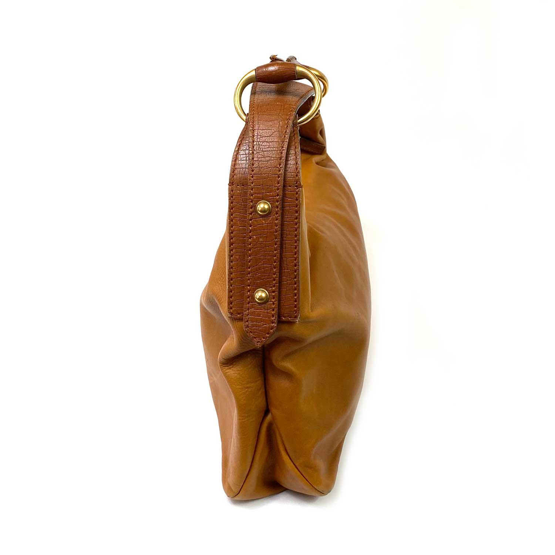Bolsa Gucci Horsebit Caramelo
