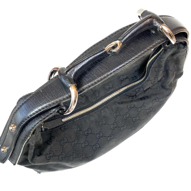 Bolsa Gucci Horsebit Hobo Preta