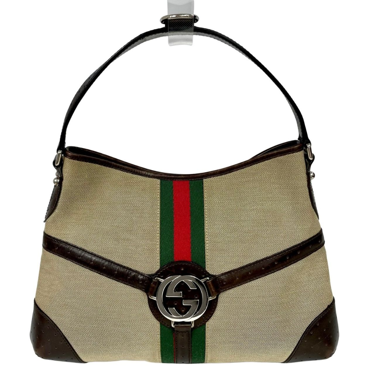 Bolsa Gucci Interlocking G Reins Hobo