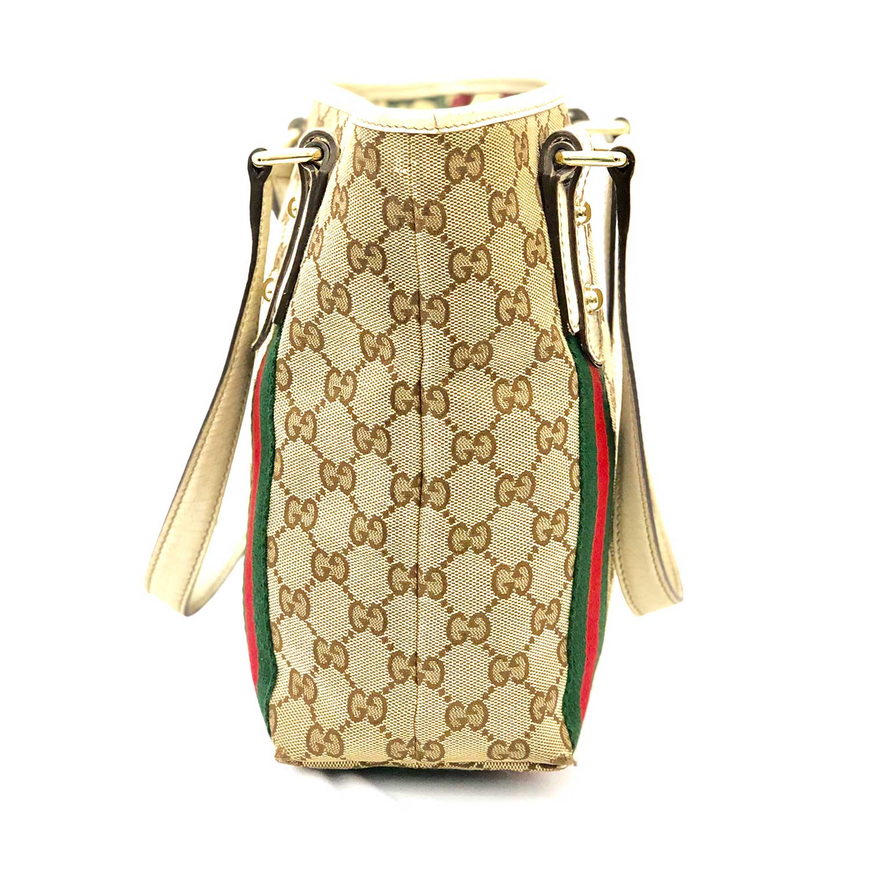 Bolsa Gucci Jolicoeur Tote Offwhite