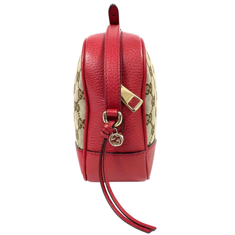 Bolsa Gucci Mini Bree Messenger