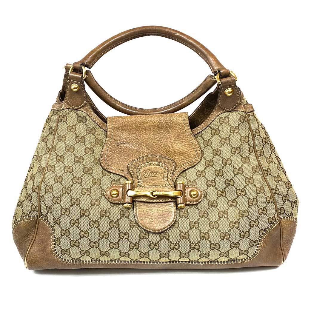 Bolsa Gucci New Pelham Monograma