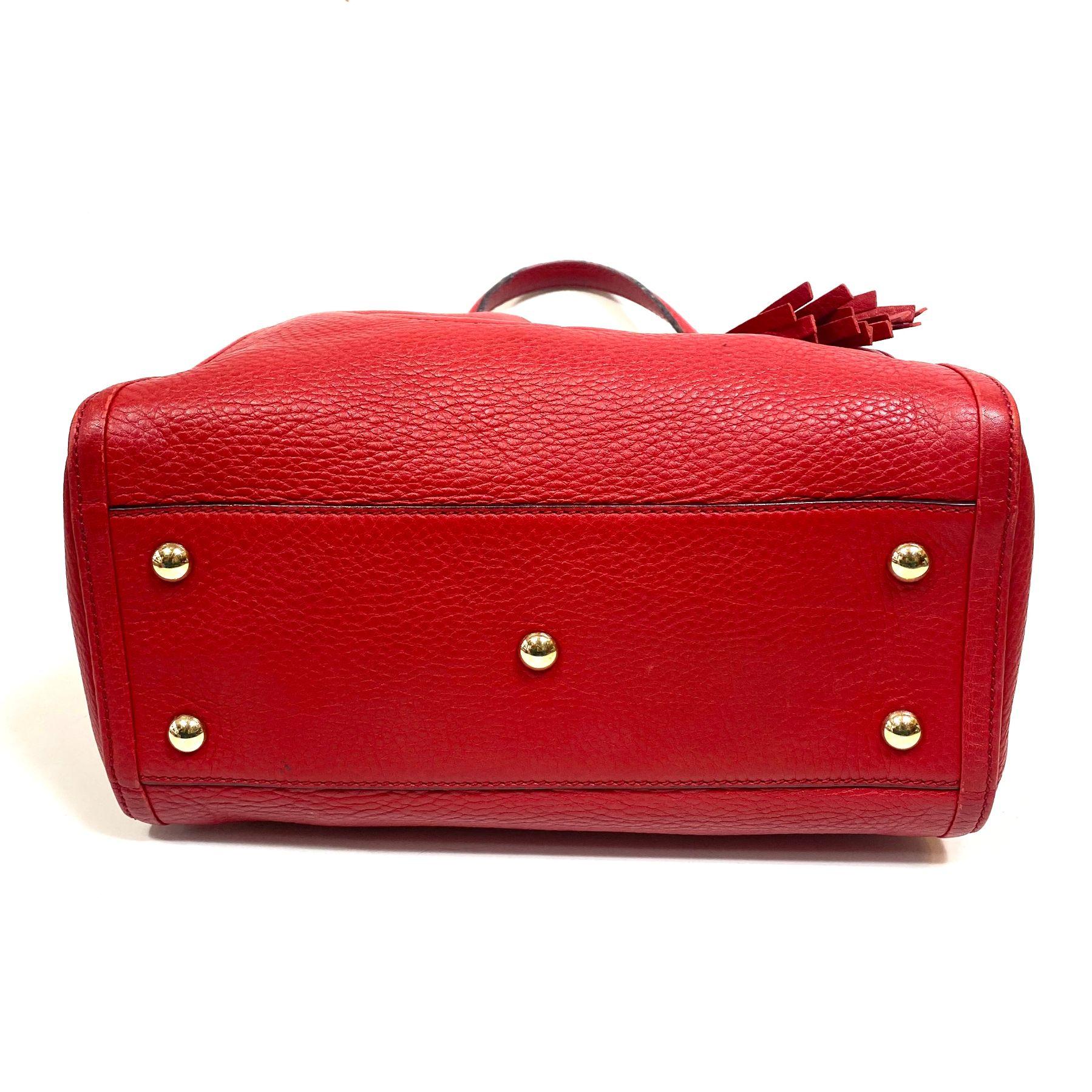 Bolsa Gucci Soho Vermelha