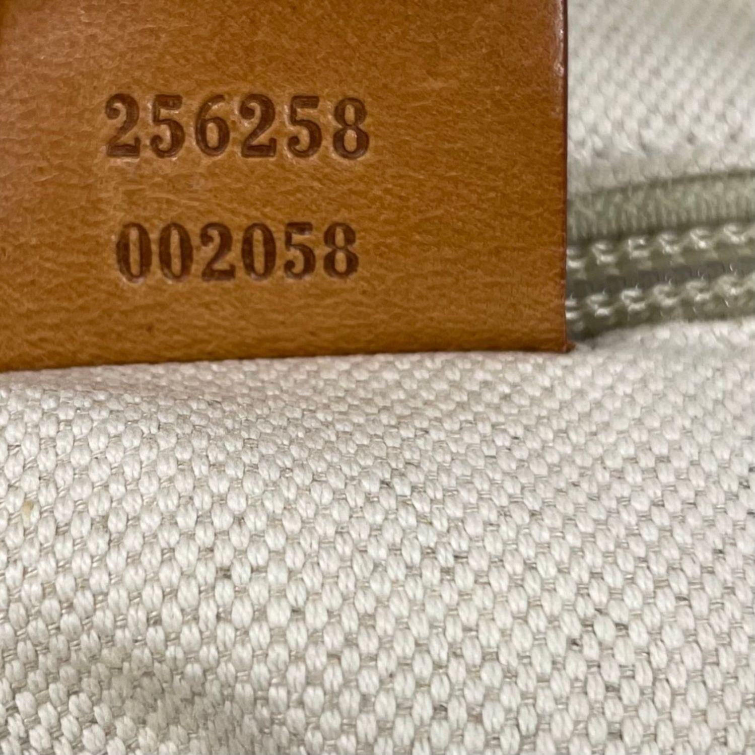 Bolsa Gucci Striped Offwhite