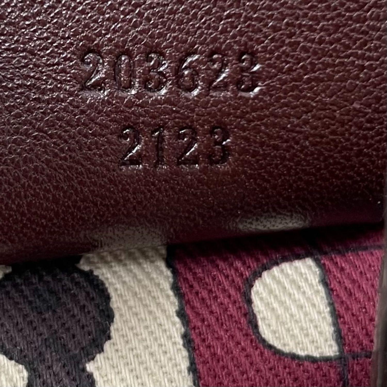Bolsa Gucci Studded Pelham Monograma Marrom