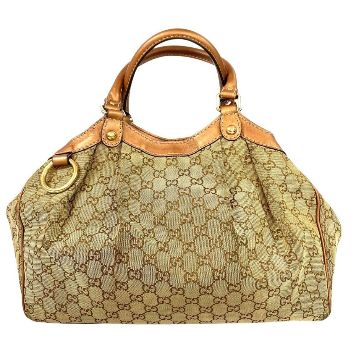Bolsa Gucci Sukey Monograma