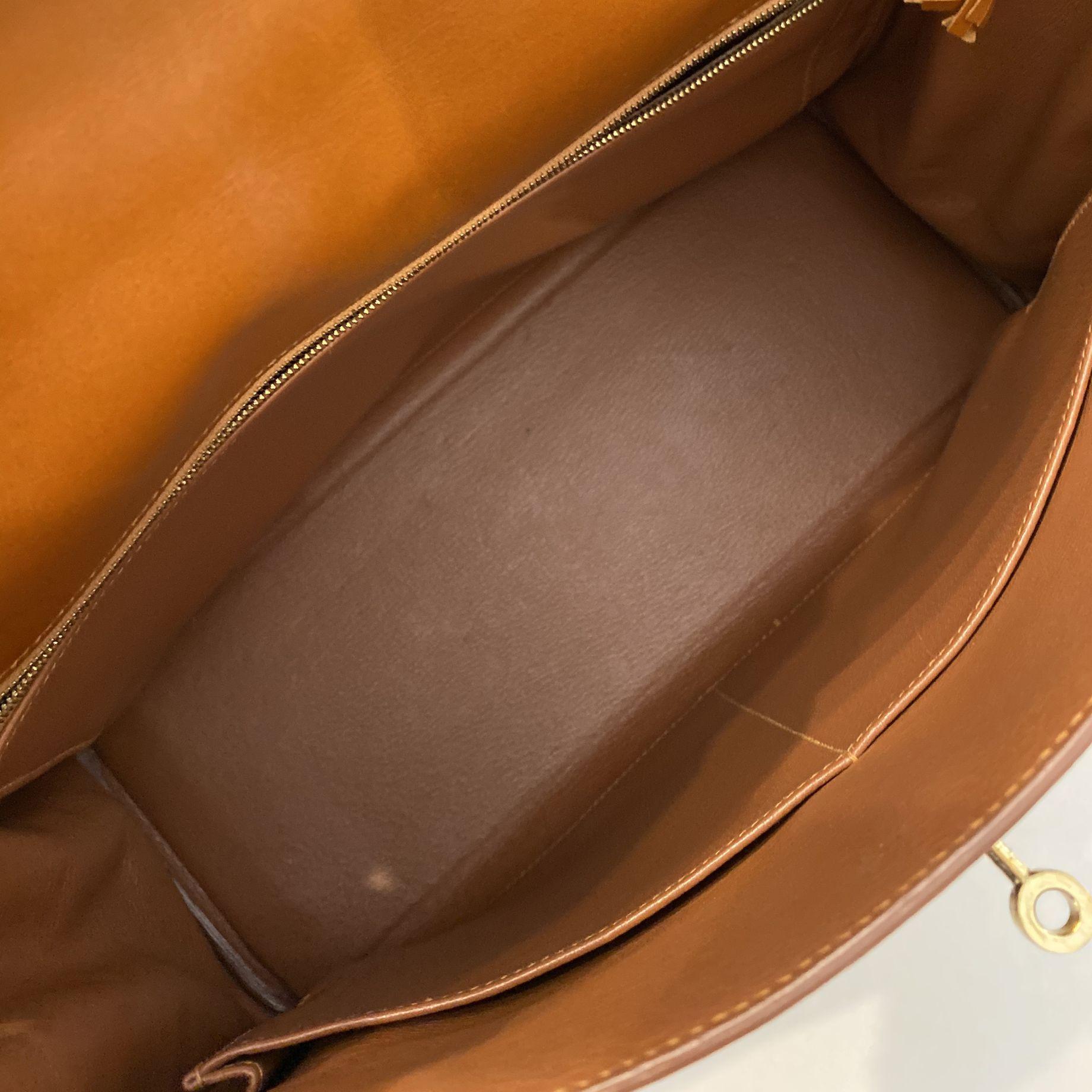 Bolsa Hermès Kelly 35 Selleria Caramelo
