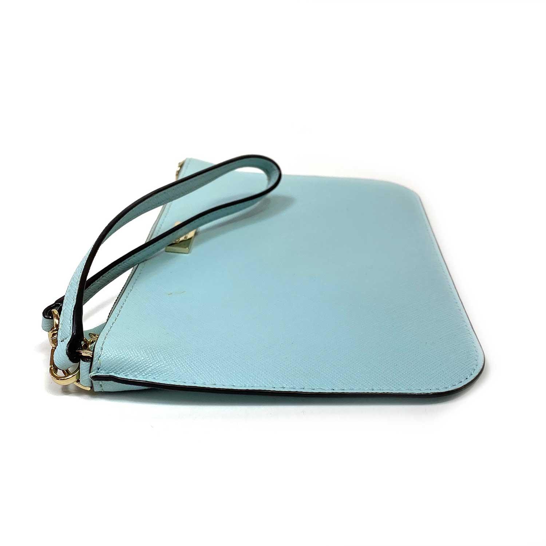 Bolsa Clutch Kate Spade Cedar Street Slim Bee Azul