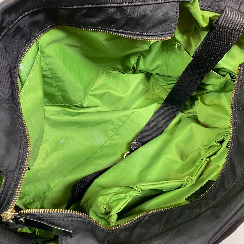 Bolsa Kate Spade Diaper Bag Nylon Preta