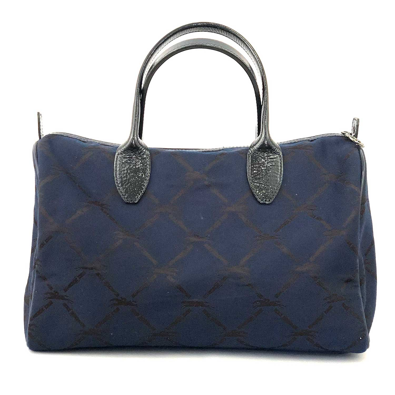 Bolsa Longchamp Azul Baú